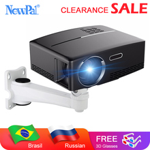 Mini Projector Home Theater Projector Android Wifi Beamer 3D HD LED Proyector with HDMI USB VGA AV Port Clearance Video TV