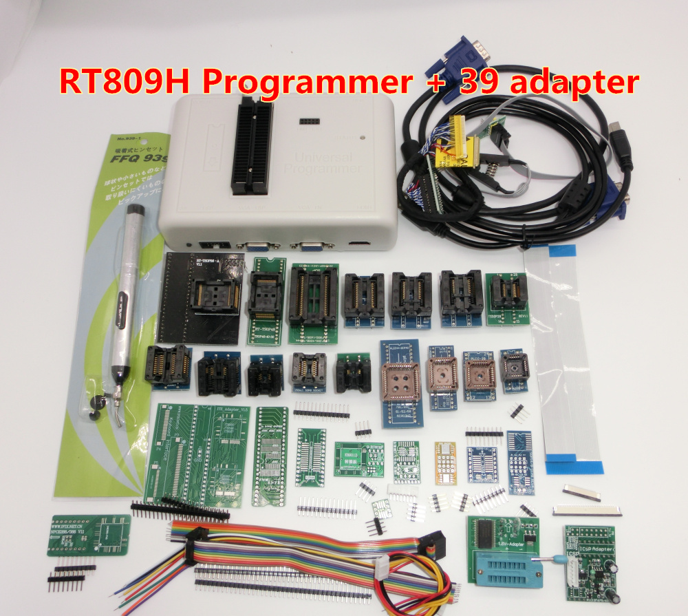 Free shipping Original RT809H EMMC Nand   Programmer +39 items-in Integrated Circuits from Electronic Components & Supplies