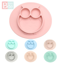 Mat Table-Mat Platos-Suction-Tray Dishes Baby-Plate Silicone Kids Meal Feeding-Pratos