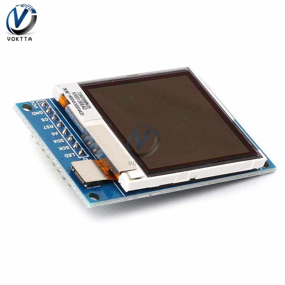 1.6 インチ oled spi シリアル液晶 tft 表示画面モジュール 130*130 arduino のため通信 oled 半透過ディスプレイモジュール