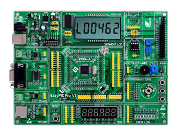 easyPIC Pro Learning Development Board dsPIC PIC32 PIC24 with dsPIC30F5015