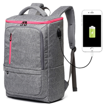 Large Capacity Oxford USB WOMEN's Travel Backpack Laptop School Backpacks for Teenagers MEN's Mountaineering Backpack Travel Bag