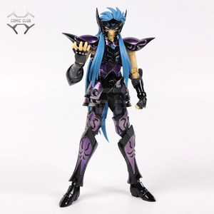 Image 1 - COMIC CLUB INSTOCK chuanshen CS Saint Seiya Specters gold saint EX Aquarius Camus action figure Cloth Myth Metal Armor