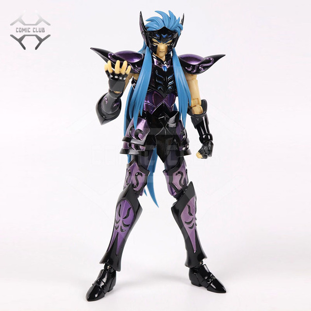 COMIC CLUB INSTOCK chuanshen CS Saint Seiya Specters gold saint EX Aquarius Camus action figure Cloth Myth Metal Armor