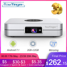TouYinger K2 DLP Bluetooth Smart Android projector Wifi support FULL HD Video Mirroring 2GB RAM 32GB ROM home cinema movie 3D