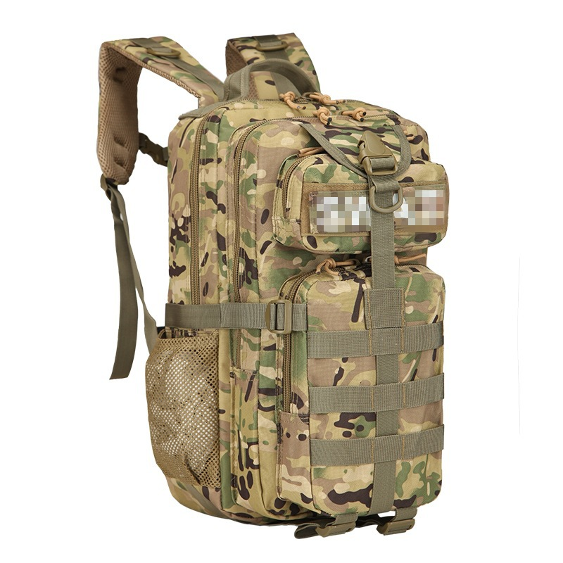 With Logo 3P Backpack 20L Outdoor Mountaineering Bag Upgraded Camouflage Tactical Backpack Outdoor Hiking Backpack