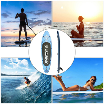 Inflatable Sup Stand Up Paddle Board Inflatable Surf Board Surfing Board Air Pulp Surfboard Inflatable KayaK Water Skiing Board цена 2017