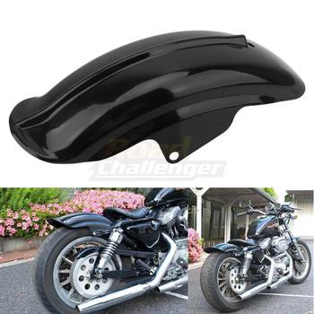 Czarny plastikowy tył motocykla błotnik dla Bobber Racer akcesoria motocyklowe części ramki montaż uniwersalny tanie i dobre opinie BCZMT CN (pochodzenie) 145mm 550mm 164mm High Quality ABS Plastic Accept 1pcs 100 Brand New