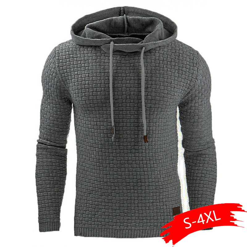 Sweater Men Autumn Winter Warm Knitted Men's Sweater Casual Hooded Pullover Men Cotton Sweatercoat Pull Homme Plus Size 4XL