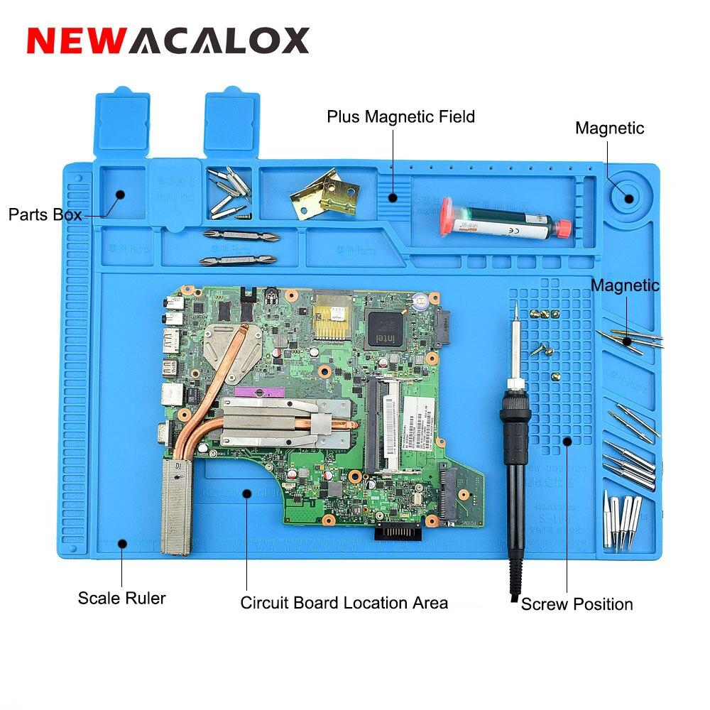 Heat Insulation Silicone Pad Soldering Repair Maintenance Work Platform Mat ASS