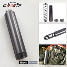 RASTP-Spiral Filter 1/2-28 or 5/8-24 Single Core Aluminum Car Fuel Solvent Trap for NAPA 4003 WIX 24003 RS-OFI023