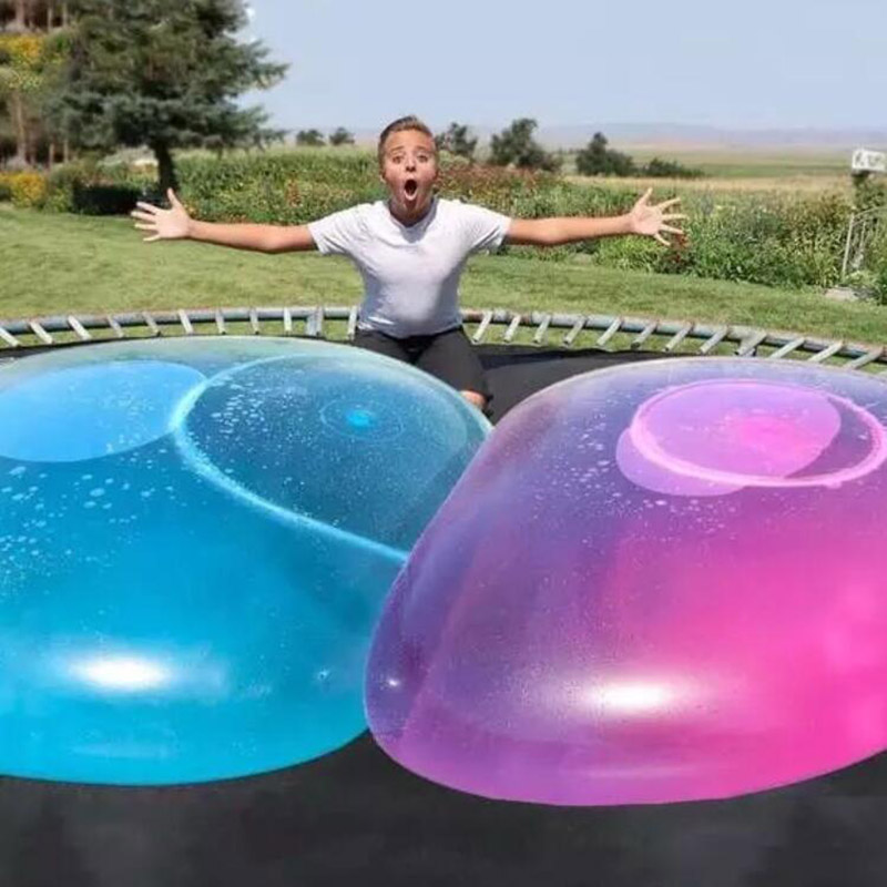 Children Outdoor Soft Air Water Filled Bubble Ball Blow Up Balloon Toy Fun Party Game Summer Gift For Kids Inflatable Gift