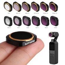 ชุดกรองสำหรับDJI OSMOกระเป๋า2มือถือGimbalเลนส์กล้องเลนส์สำหรับDJI Osmoกระเป๋าNDกรองMCUV CPL ND64 PL ND32 PL ND4 8