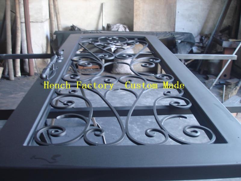 Shanghai Hench Brand China Factory 100% Custom Made Sale Australia Indoor Wrought Iron Doors