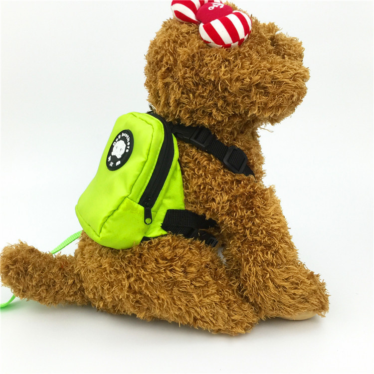 Pet Small Bookbag Pet Nursing Bag Dog Nursing Backpack Portable Mao Bao Puppy Small Bookbag