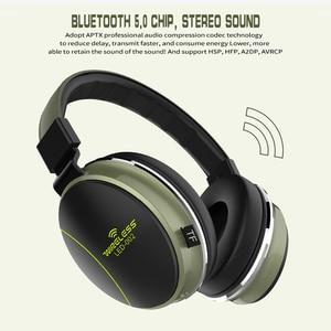 Image 5 - Auriculares plegables LED 002 Auriculares inalámbricos con Bluetooth, auriculares estéreo 3D para videojuegos