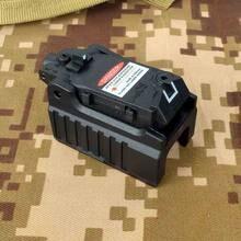 Taktyczne celownik z czerwonym laserem dla Airsoft Glock 17 19 22 23 25 26 27 28 31 32 33 34 35 37 38 pistolet żelaza widok z tyłu