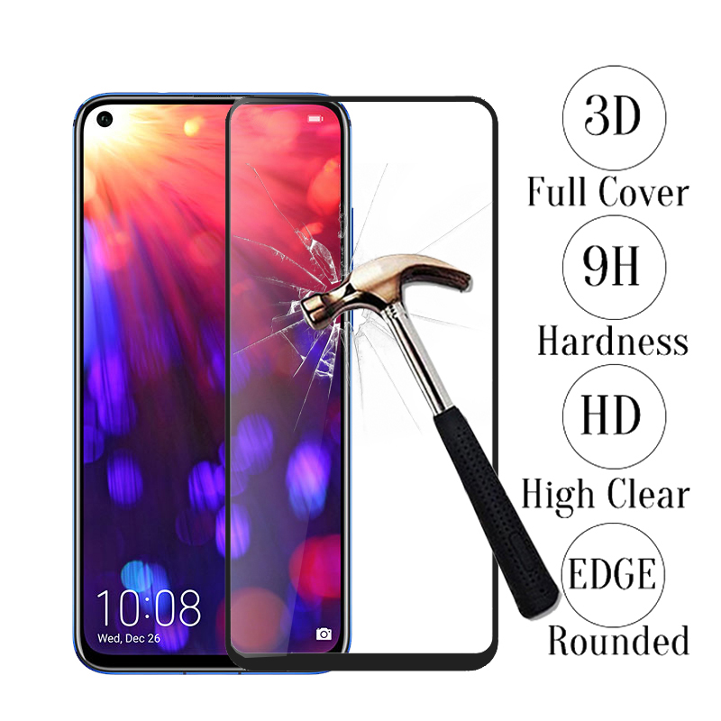 3D Protective Glass For Huawei Honor 20 Pro 20pro Tempered Glass Full Cover Screen Protector On Honer 20 Pro 6.26