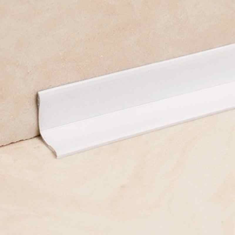 3.8/2.2cm *3.2m Waterproof Mold Proof Adhesive Tape Durable Use 1 ROLL PVC Material Kitchen Bathroom Wall Sealing Tape Gadgets
