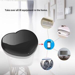 Image 3 - Timethinker Tuya חכם בית IR שלט רחוק לעבוד עם Alexa Google בית לב צורת LED אור עבור Broadlink Xiaomi