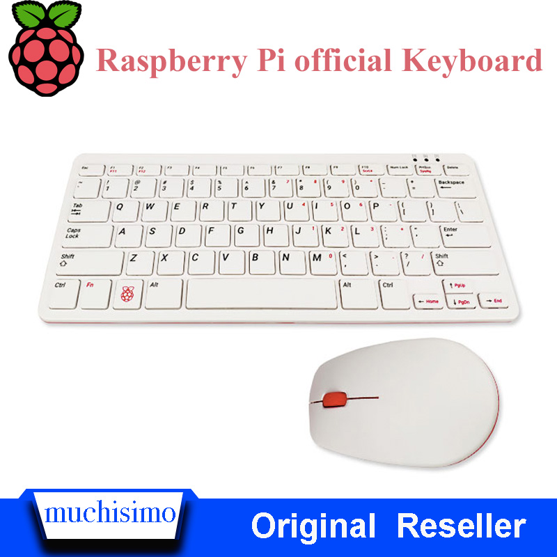 Raspberry Pi 4B Official Keyboard And Mouse For Raspberry Pi 4B / Raspberry Pi 3B / Raspberry Pi 3B+(Plus) Raspberry Keyboard
