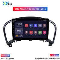 2G di Ram 32G Rom 9 Pollici Android 8.1 Multimedia Dvd Player per Nissan Juke 2004-2016 Auto gps di Navigazione