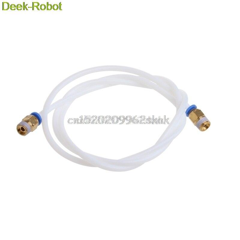 1M 3D Printer PTFE Tube For 1.75mm Filament RepRap Rostock 3D Printer Tubing