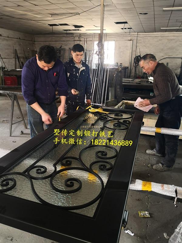 Shanghai Hench Brand China Factory 100% Custom Made Sale Australia Wrought Iron Security