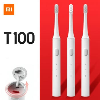 Xiaomi Mijia T100 Mi Smart Electronic Toothbrush Xiaomi Sonic Whitening Oral Care Two-speed Cleaning Mode Xiaomi Home Toothbrush