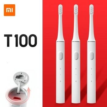 Xiaomi Mijia T100 Mi Smart Electronic Toothbrush Xiaomi Sonic Whitening Oral Care Two-speed Cleaning Mode Xiaomi Home Toothbrush