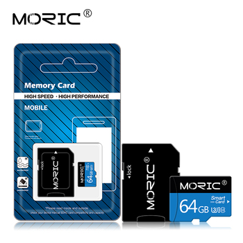 Original Moric Micro SD Card Class 10 SD/TF Flash Card memory cartao de memoria 4GB 8GB 16GB 32GB 64GB 128GB 256GB image