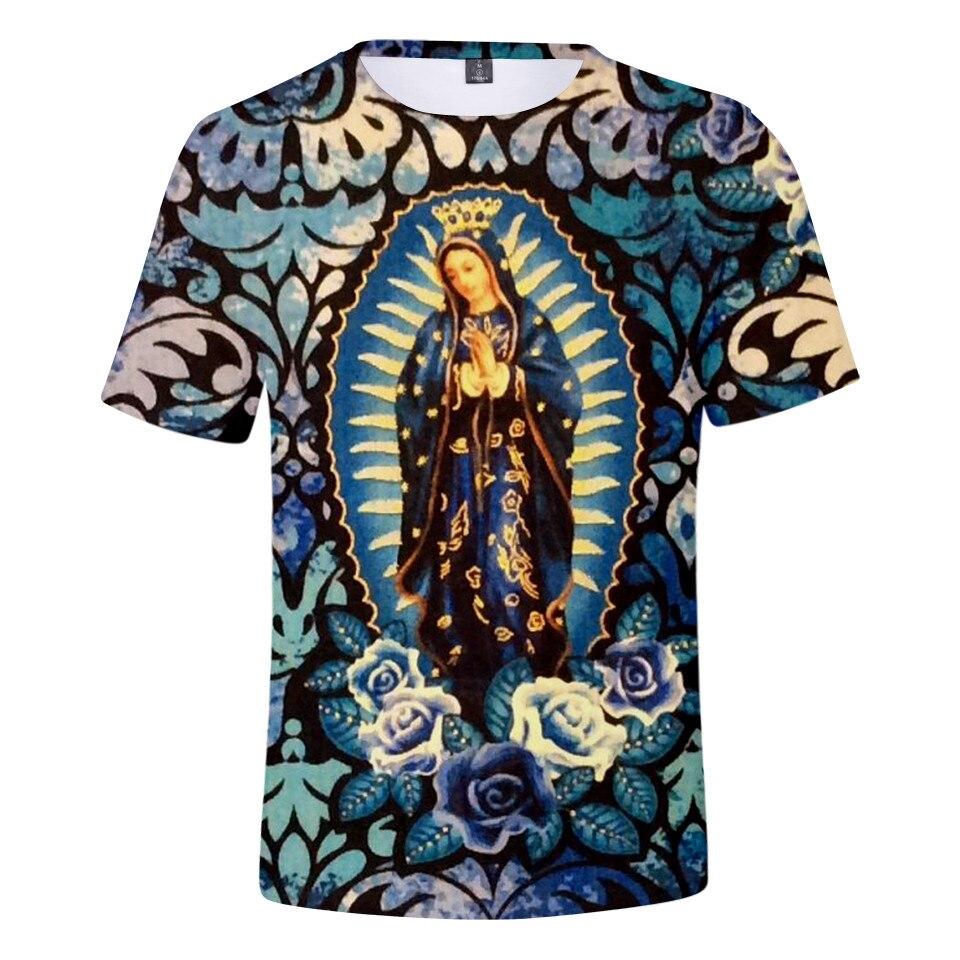 VIRGIN MARY VIRGEN DE GUADALUPE JESUS CATHOLIC Mens Black Sweatshirt