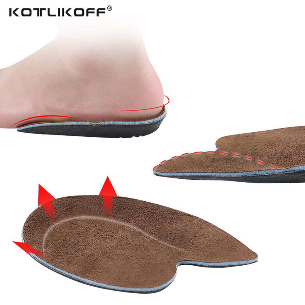 KOTLIKOF Gel Heel Cushion Inserts For Shoes Silicone Heel Cup Pads For Bone Spur Pain Relief Protectors Plantar Fasciitis Insole