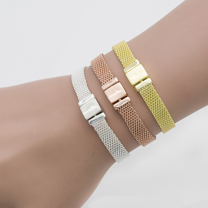 Reflexions bracelet new Charm bead chain Fashion Wide quality women Bracelet 3 color width watch belt gift have logo link chain