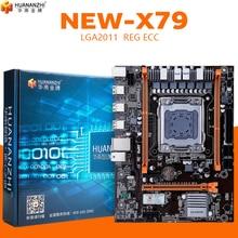 Huananzhi x79 4 m 마더 보드 lga 2011 usb2.0 sata2 지원 reg ecc 메모리 및 xeon e5 프로세서