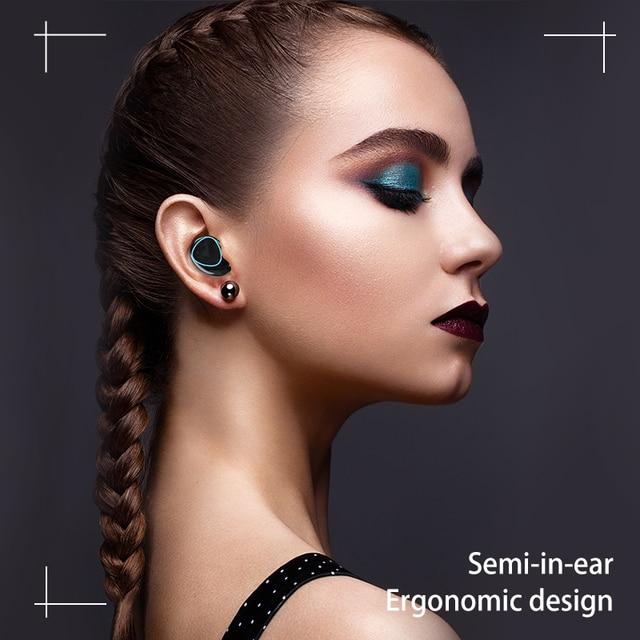 3500mAh TWS Bluetooth-compatible Wireless Headphone 9D Stereo Sports Wireless Earphones Waterproof Headsets with Microphone 4
