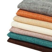 50*50 50*100 fotografie Requisiten Leinen Textur Baumwolle Gemischt Tuch Gewebt Stoff Einfarbig Vintage Hintergrund Brackgrops