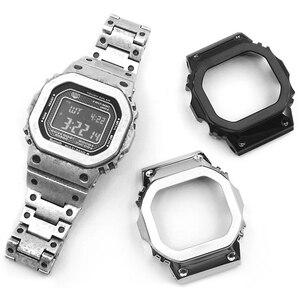 Image 4 - Bracelet de montre/boîtier, sangle en métal, Bracelet en acier inoxydable 316L, haut niveau, avec outils, 5 couleurs, cadeau pour vacances, GMW B5000