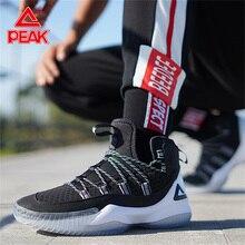 PEAK Men Basketball Shoes Breathable Cushioning Mesh Sneaker