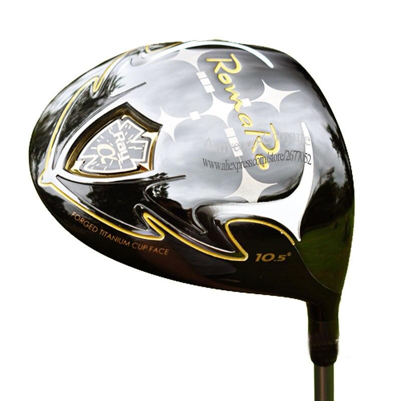 Neue Golf clubs RomaRo Ray eine Golf fahrer 9,5 or10.5 Loft Clubs treiber Graphit welle R oder S Golf welle cooyute Freies verschiffen