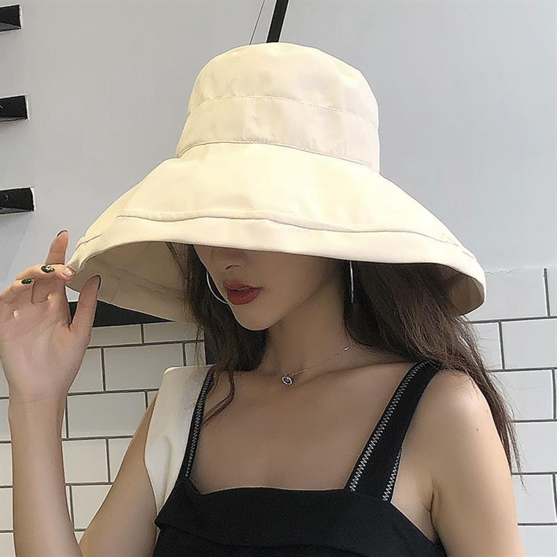 womens hats fashionable summer caps visors hat wide brim floppy Casual sun adjustable beach for wome