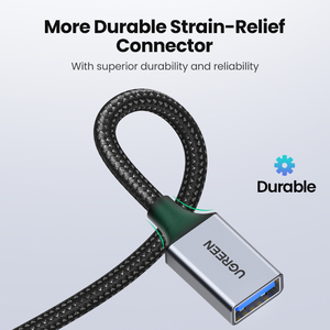 Image 5 - Ugreen USB 3.0 כבל USB כבל מאריך זכר לנקבה נתונים כבל USB3.0 Extender טלוויזיה במחשב USB הארכת כבל