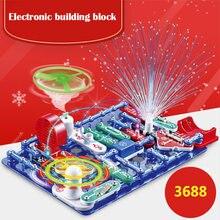Электроника Детский Электронный строительный блок сборка цепи