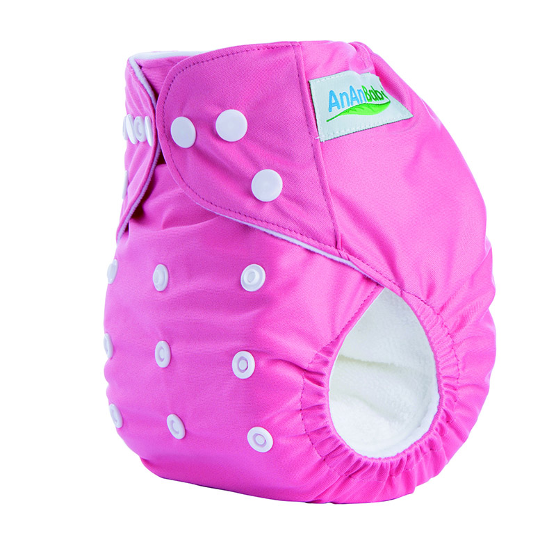 100Pcs/Lot Biodegradable Pocket Diaper Nappy For Baby  A Series With Insert Suit 3-15KG And You Can Choose A Suit