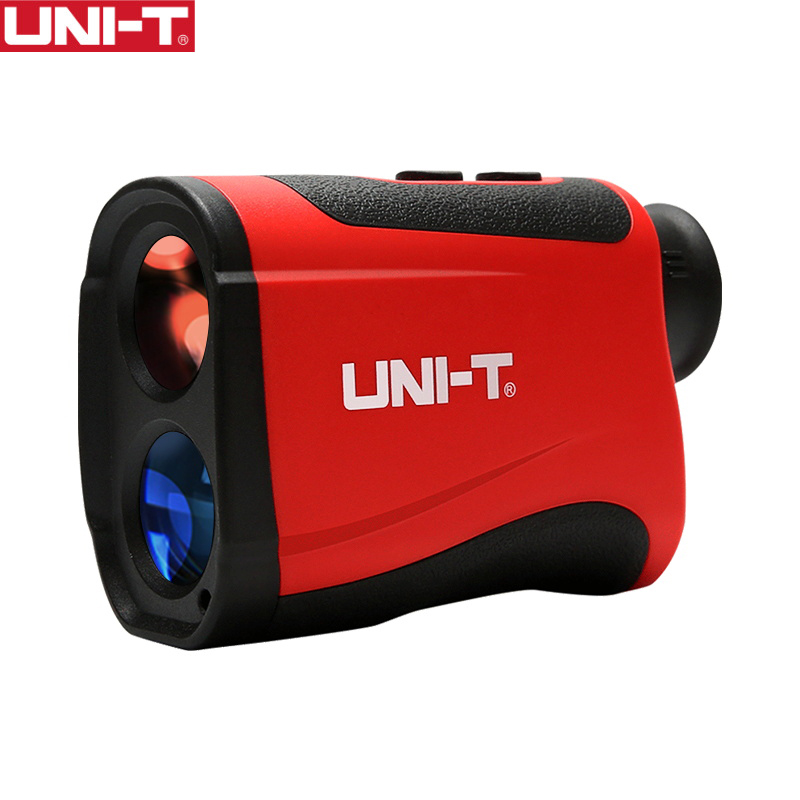 UNI-T лазерный дальномер для гольфа, лазерный дальномер, телескоп, измеритель расстояния, угол высоты, телескоп с ЖК-дисплеем, серия LM600