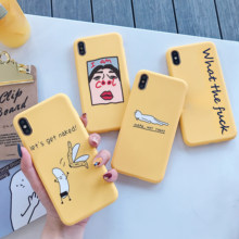 For iPhone 11 Case SE 2 Luxury Cute Cat Fun letters Silicone Soft Cover For iPhone X XR 11 Pro XS Max 7 8 6 6s 6s Plus Fundas(China)