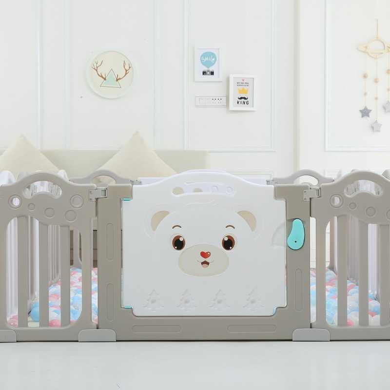 תינוק איחה לול מקורה תינוק גדר עבור כדור בריכה יציבה בטוח גדר משחק לילדים משחקים טלאי ילדי פרק חצר