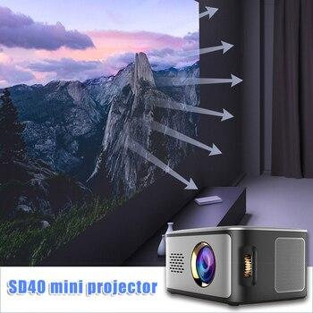 LED Mini Projector Multimedia HD 1080P Video Movie Home Theater Cinema @M23