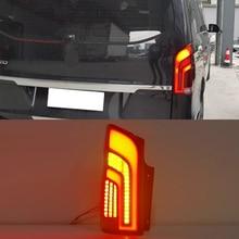 1 Paar Tuning Achterlicht Voor Mercedes Benz Vito V250 V260 V260L Achterlichten Led W447 Drl Running Lights Mistlampen achter