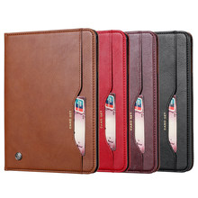 For Samsung Galaxy Tab A 10.1 2019 T510 T515 Cover Deluxe Retro Suede Leather Cover Wallet Card Holder Magnetic Book Classic(China)
